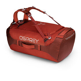 Osprey Transporter 95 Duffel Bag, ruffian red